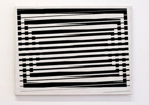 """Jeffrey Steele, """"Tsunami"""", 1965, Öl auf Leinwand, 68,6 x 91,4 cm"""