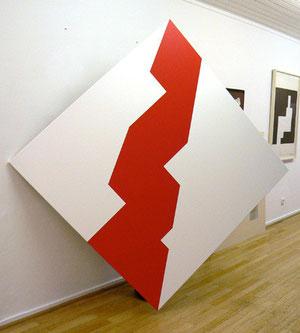 """Bob Bonies, """"o.T."""", 1965, Acryl auf Leinwand, 140 x 140 cm"""