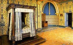 Покои Генриха 3, где был убит герцог де Гиз