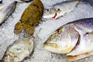 Pescado de verdad en El Marino. Sorpresa: ¡No es cuadrado!