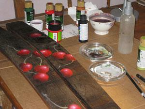 Bild: Acrylmalerei auf Holz