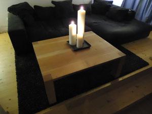 Salontisch aus Kirschbaumholz