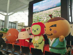 長野県の「ゆるキャラ」大集合