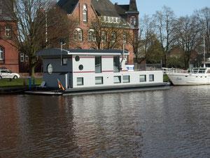Dat ist das Hausboot aus der Doku von VOX