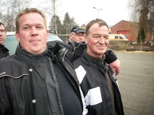 Tiefflieger-Ralf und Fredy