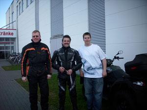 Quadfredy,Wolle und Mathias