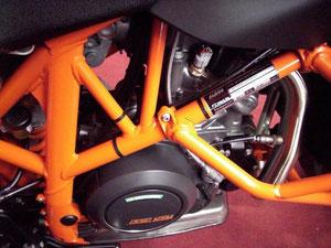 KTM Motor für´s Quad einfach cool!!!!