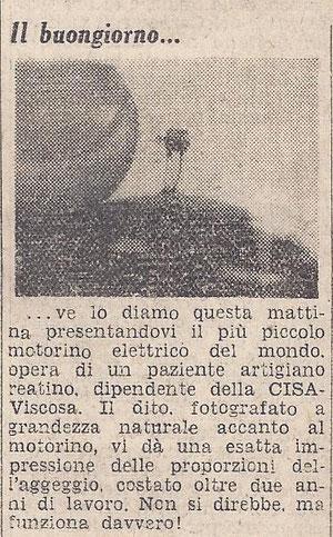 Il Messaggero, 5 dic 1957