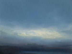 o.T., 2007, 18 x 24 cm. Öl auf Leinwand