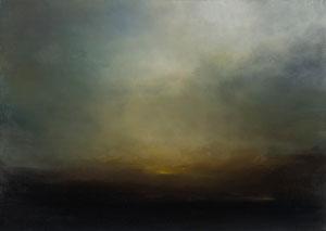 o.T., 2007, 50 x 70 cm, Öl auf Leinwand