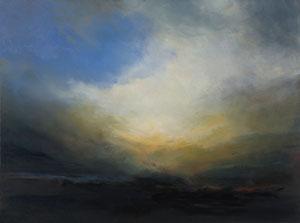 o.T., 2008, 60 x 80 cm, Öl auf Leinwand