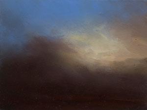 o.T., 2009, 18 x 24 cm, Öl auf Hartfaser