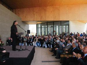 Inauguración Centro Cultural Lalo Parra en Cerrillos