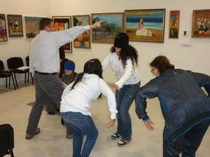 Primer taller de cuentacuentos en el Centro Cultural Lalo Parra de Cerrillos