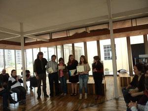 Graduación Cuentacuentos para el Consejo Nacional de la Cultura