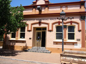 Heritage; Toodyay Memorial Hall