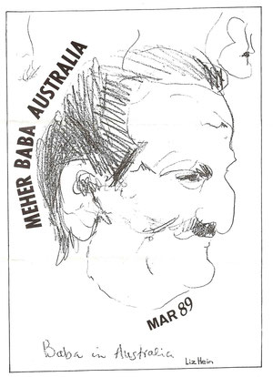 Cover of Meher Australia newsletter ; March 1989