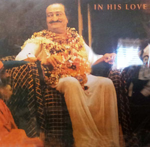 """ In His Love "" CD cover"
