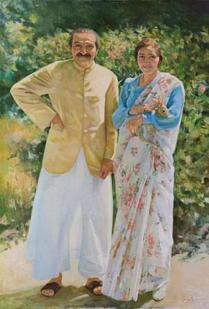 Meher Baba & Mehera Irani