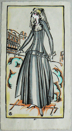 A fashion illustration of Ottos'