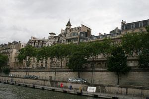 パリのセーヌ川クルーズ