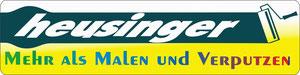 Website von Malerbetrieb Heusinger