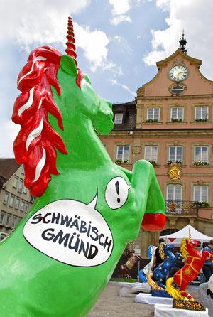 Einhorn-Aktion Schwäbisch Gmünd