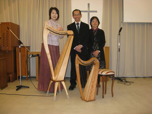 坂井牧師先生ご夫妻と