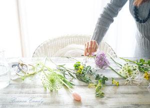 France style flower lesson