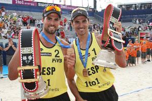 Pablo Herrera y Adrián Gavira, 2º en el ranking mundial.