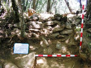 Excavación en la muralla Sur