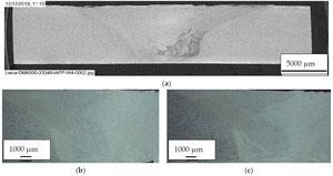 Metallographische Begutachtung der FSW-Versuchsschweißungen
