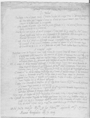 Besitztum Tommaso Rangones in Padua und Mestre 1566
