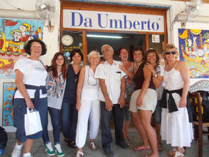 gli affettuosi clienti di Umberto