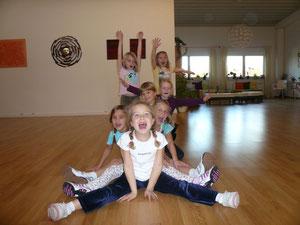 Unsere Tanzkinder am Freitag um 15.00 Uhr :-)