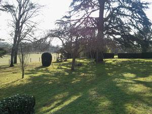 Maison St Paul, jardin