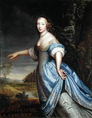 Madame de la Sablière, par Pierre Mignard