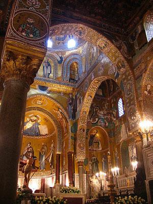 Cappella Palatina...Oh my gold!