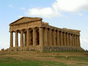 Agrigento, temple valley
