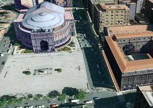Teatro Politeama - 3d model