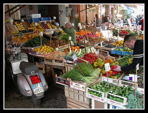 Ballarò, fruit and vegetables