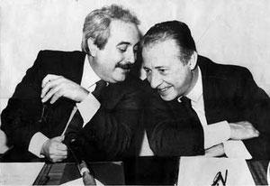 Giovanni Falcone and Paolo Borsellino, Palermo's heros