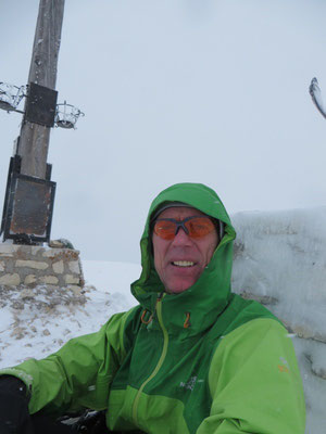 Auf dem Strudelkopf (2305m)