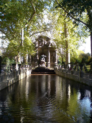Jardin du Luxembourg : Fontaine Marie de Médicis