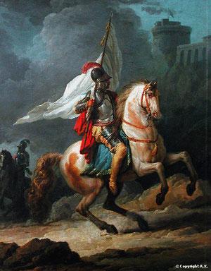 Cavalier avec armure et lance (Carle VERNET 1800)