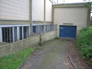 Eingang zur Werkstatt