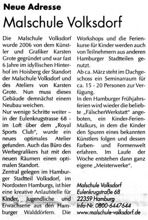 Heimat-Echo 29.2.2012