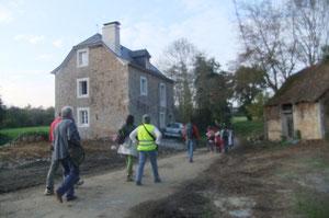 Un habitat venant d'être restauré, à présent sur la sellette...