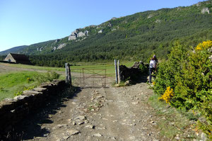 A l'approche de la Sierra de los Rios