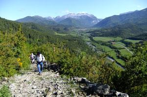 Le Camino de Santiago domine la Vallée de Hecho